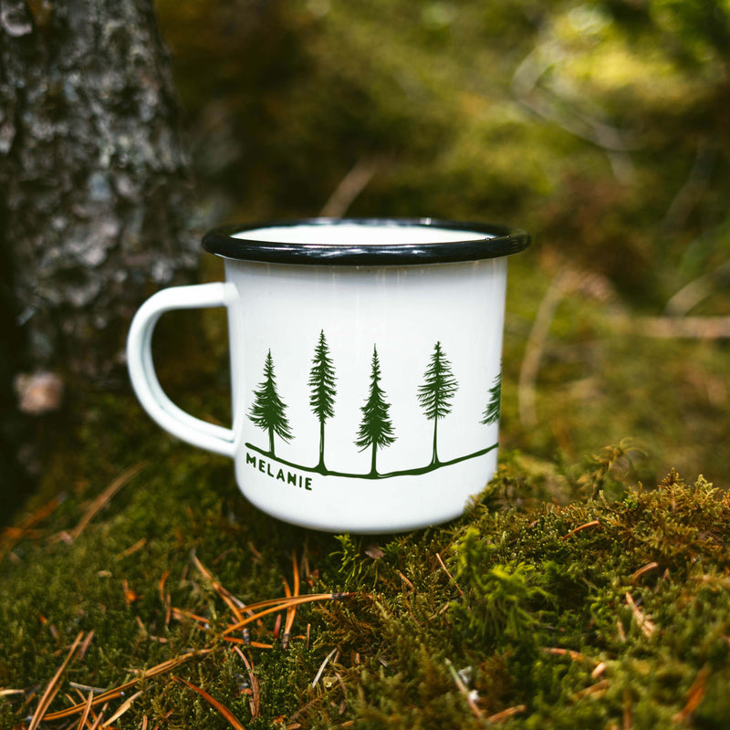 Forest Personalized Camping Mug