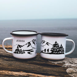 Hiking Mug Personalized