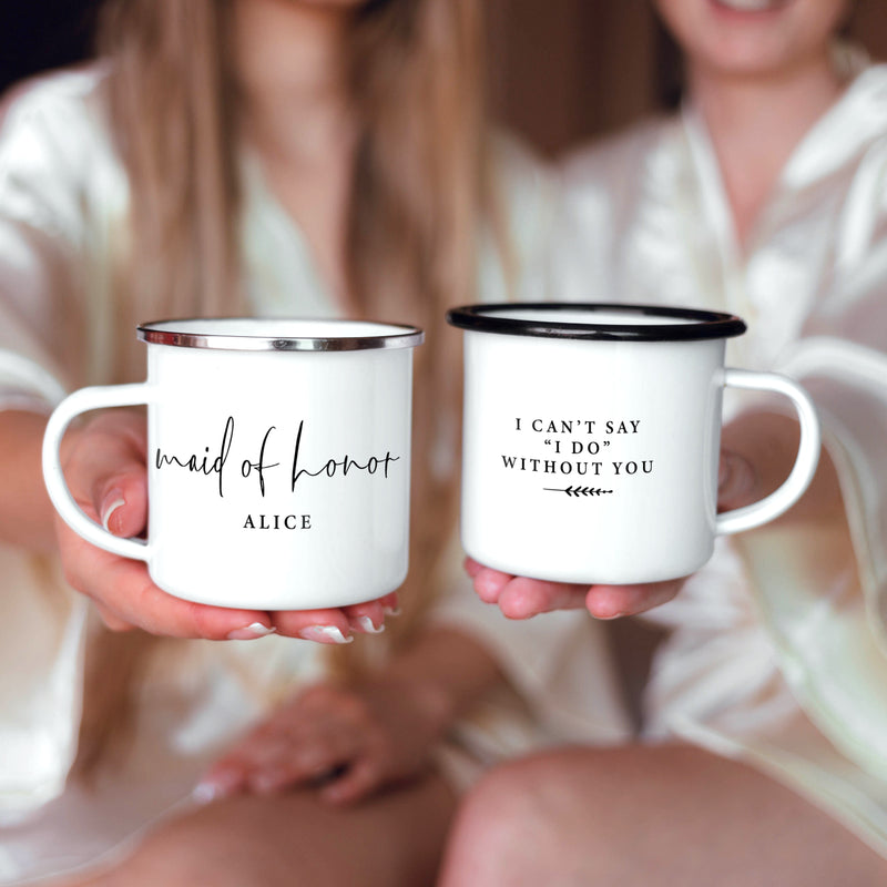 Maid of Honor Matron of Honor Mugs
