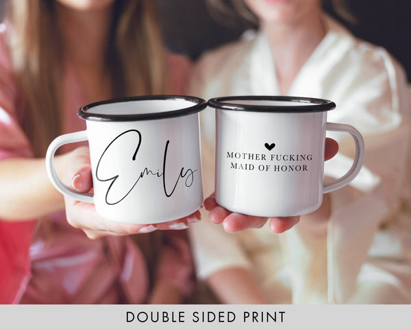 Bridesmaid Proposal Camping Mugs