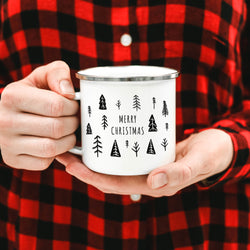 ODYSEA Merry Christmas Campfire Coffee Mug