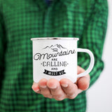 Mountains Calling Camp Mug - The ODYSEA Store