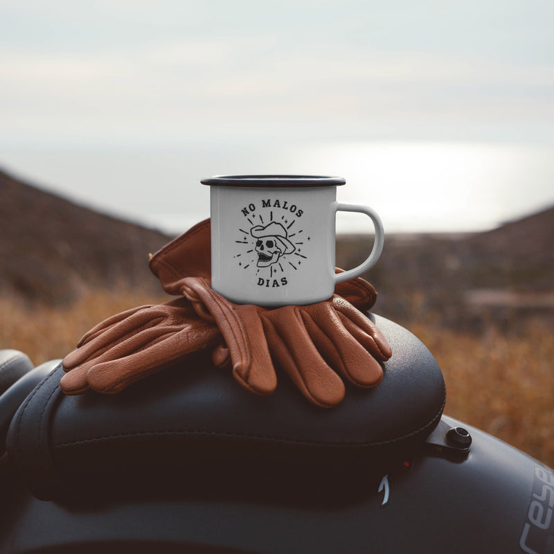 No Malos Dias Camping Mug / No Bad Days