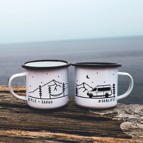 Campervan Personalized Vanlife Camp Mug
