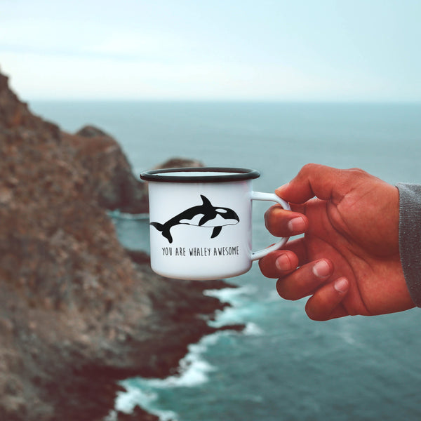 You Are Whaley Awesome Orca Whale Mug