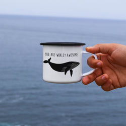 You Are Whaley Awesome Humpback Whale Mug