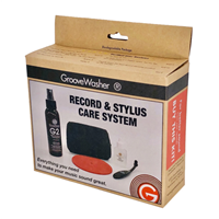 GrooveWasher record and Stylus Care System