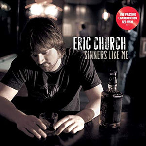 Eric Church - Sinners Like Me (Red vinyl)