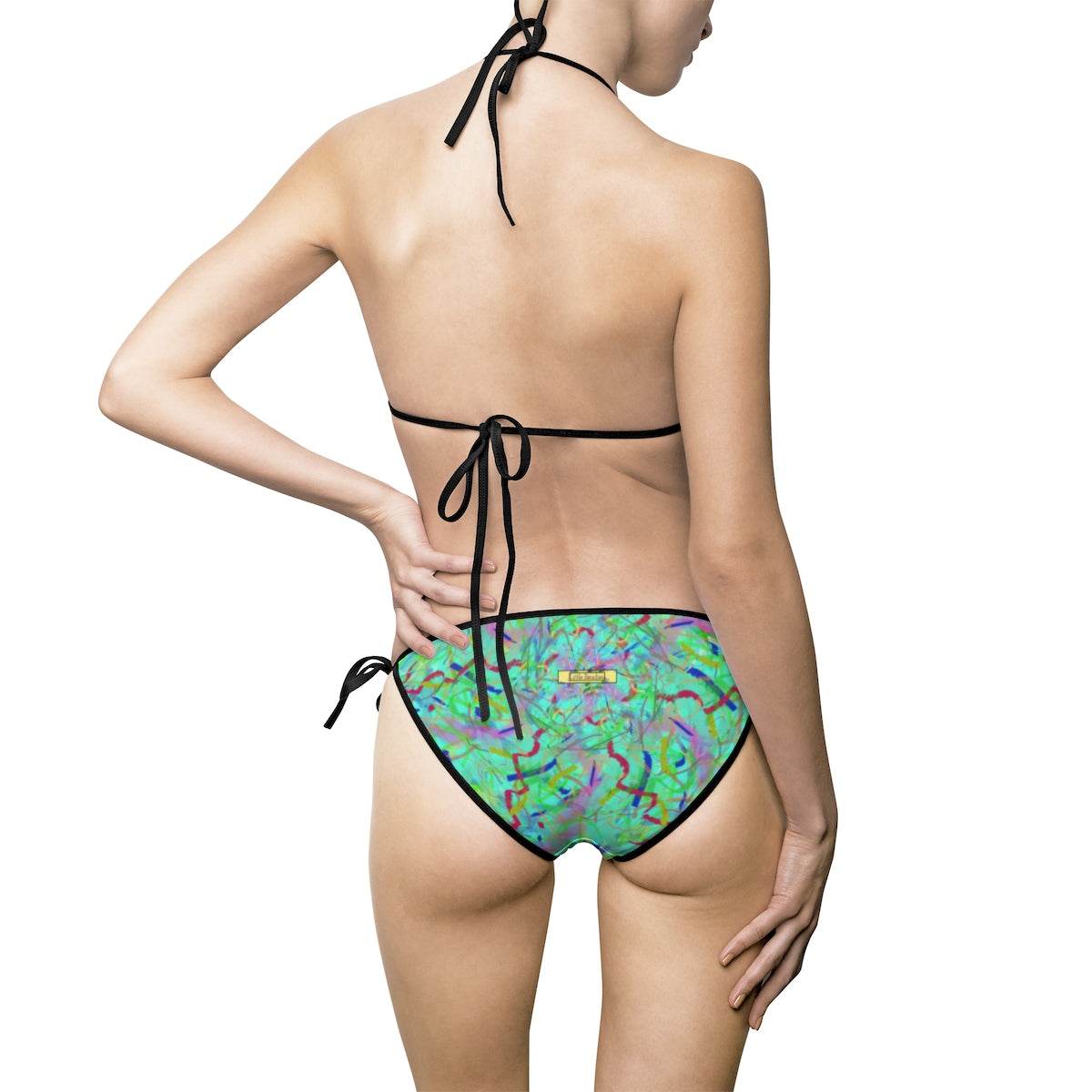 Women's Bikini Swimsuit Swirl - Little Beaches