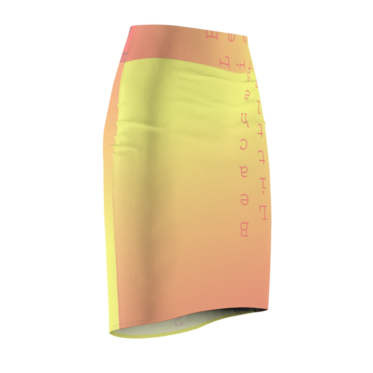 Tequila Sunrise Pencil Skirt - Little Beaches