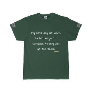 Best day at Work Short Sleeved Tee - Little Beaches