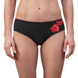 Women's Briefs  Poppies say summer