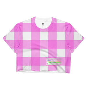 Super comfortable loose fit Cropped Pink Tee - Little Beaches