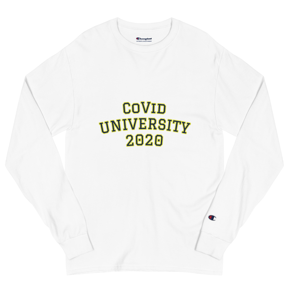 CoVid  University 2020 Long Sleeve Shirt