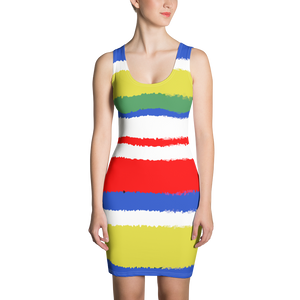 Full of Joy Multi Colored print Dress - Little Beaches