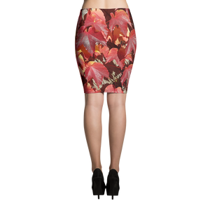 Fall Colors Pencil Skirt - Little Beaches