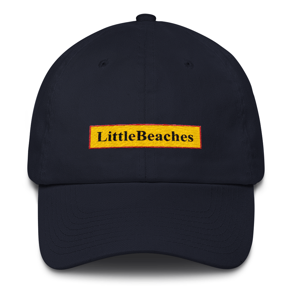 Little Beaches Baseball Cap all cotton Made in USA - Little Beaches