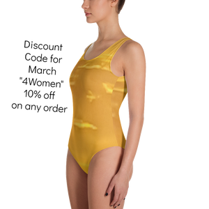 Golden Sunset One Piece Swimsuit - Little Beaches