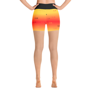 Pina Colada  Sport and Yoga Shorts - Little Beaches
