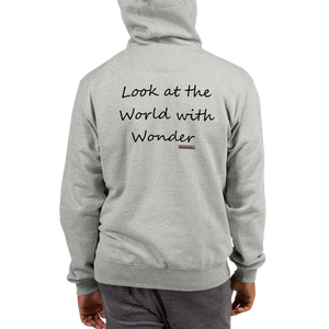 Champion Hoodie Look at the World with Wonder - Little Beaches