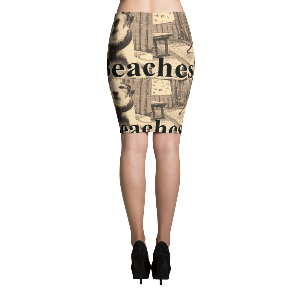 Tre Pencil skirt Little Beaches - Little Beaches