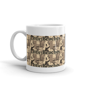 Little Beaches  Blab Cafe Coffee or Tea Cup - Little Beaches