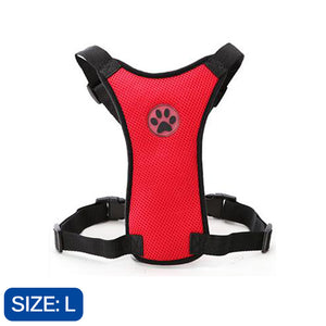 Comfortable Mesh Safety Harnesses For Dogs - Little Beaches