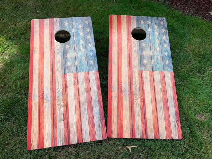 Distressed Flag Boards