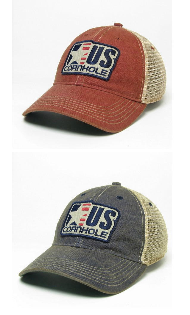 US Cornhole Trucker Hat