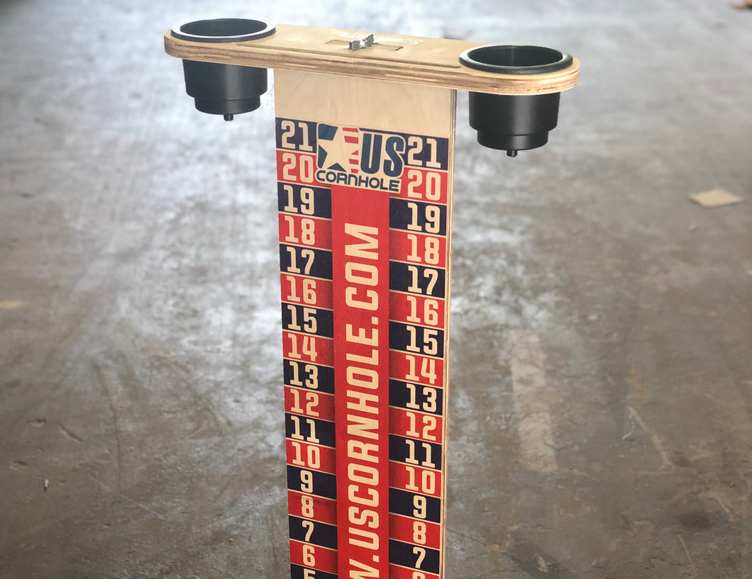 US Cornhole Score Tower