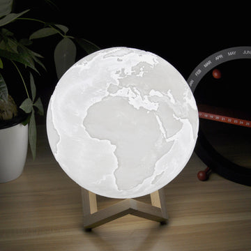 Rechargeable Earth Lamp