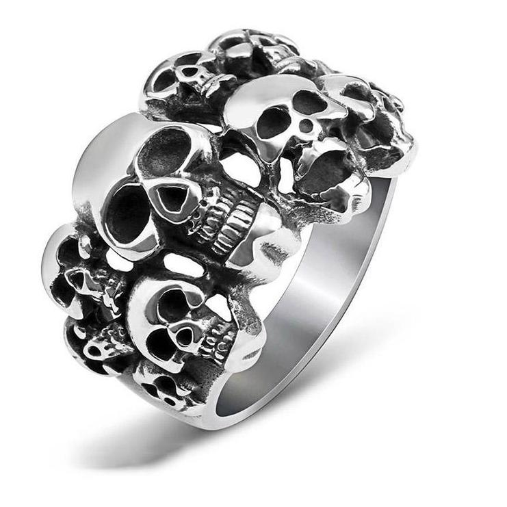 Faces of Death  Finger Ring