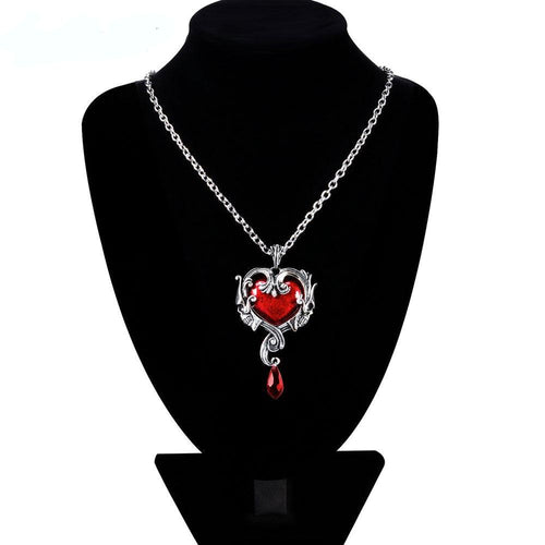 Love You To Death Pendant Necklace