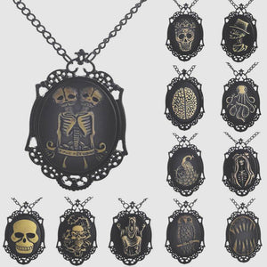 """Creepy Characters"" Necklace Collection"