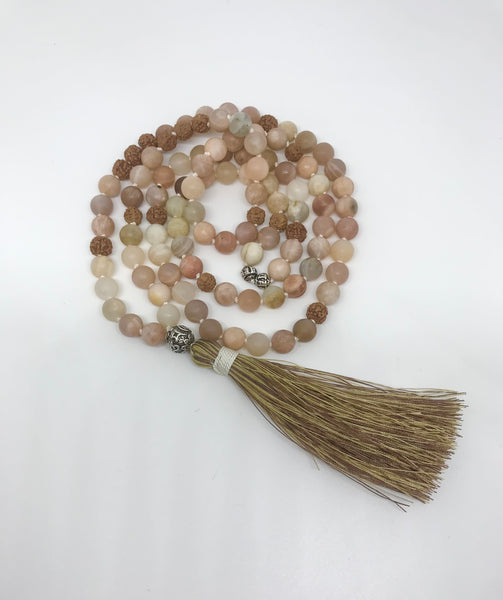 "Sunstone Mala ""Confidence and Hope"""