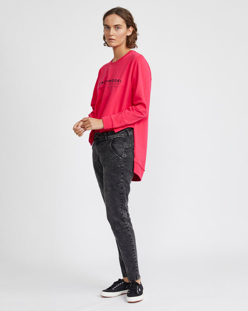 priscilla sweatshirt - hot pink