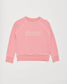 chicago sweatshirt - flamingo