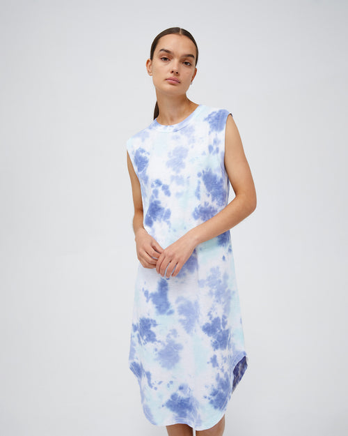 naomi dress - miami tie dye