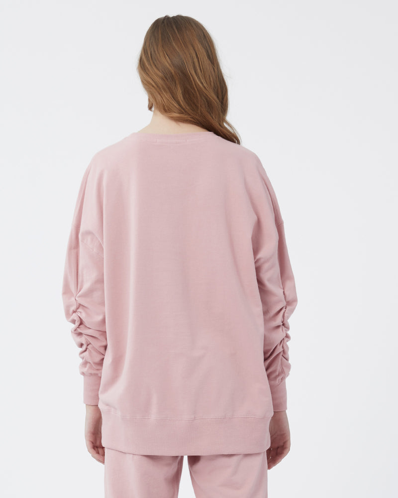willow tunic sweatshirt - vintage rose