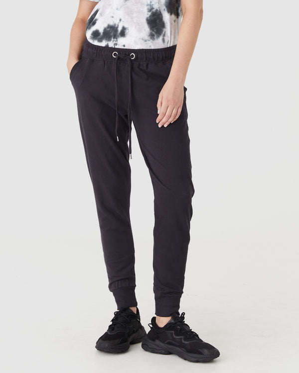scarlet sweat pant - vintage black