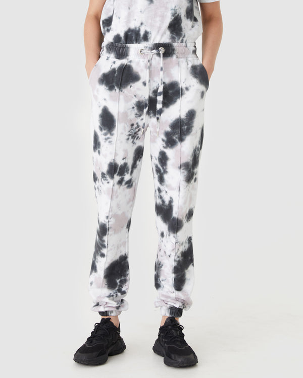 GEORGIA SWEAT PANT - LILAC TIE DYE
