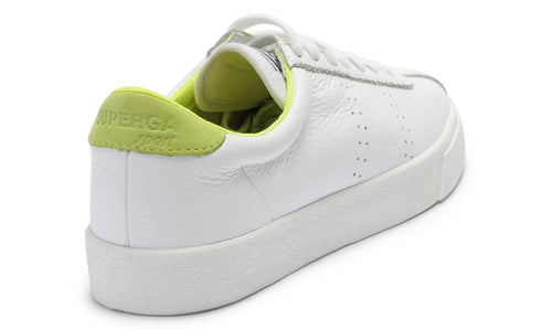 2843 Comfleau Sneaker - White/Yellow