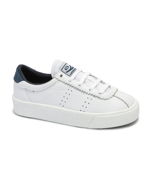 2843 Clubs Comfleaj - White - Navy