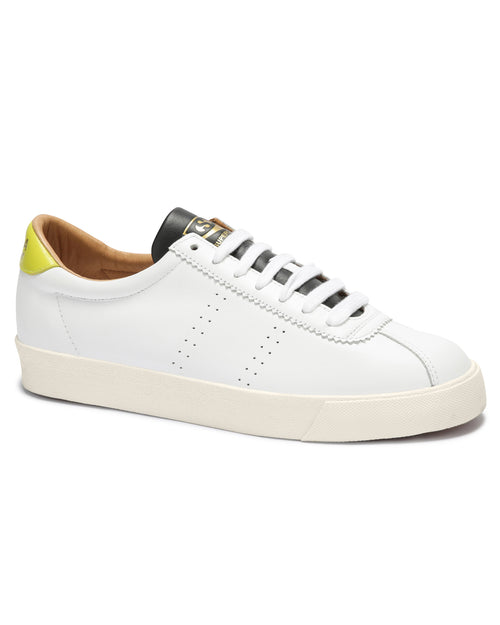 2869 Club S Soft Leather - white-lime-black