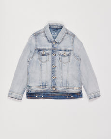 denim hi-lo jacket - vintage