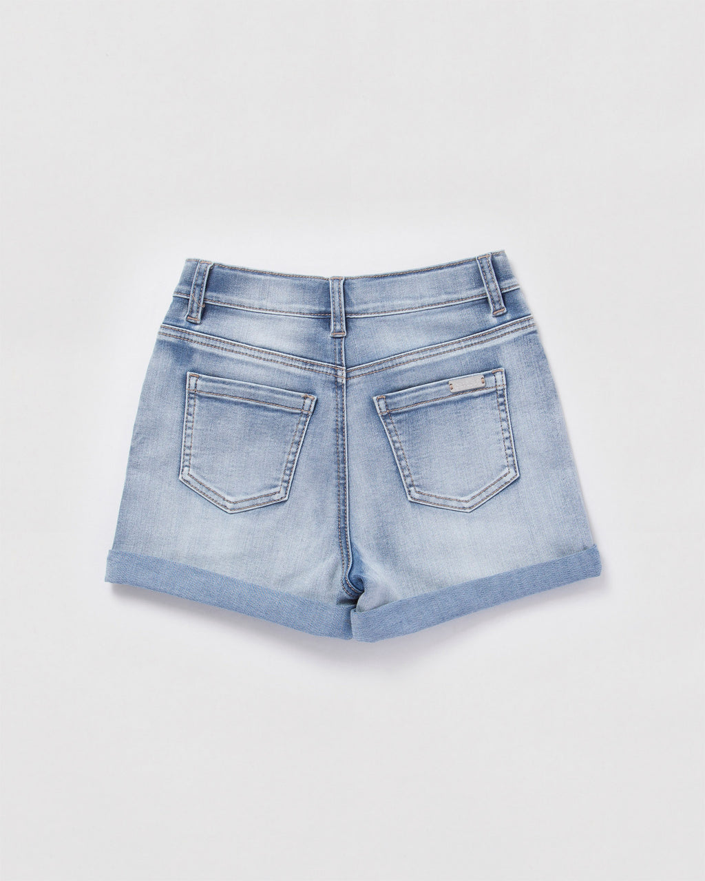 denim short - vintage wash