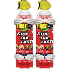 Fire Gone 2-FG-7209 Fire Suppressants with Bracket, 2 pk