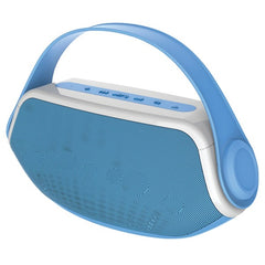 SYLVANIA SP233-BLUE Blue Wireless Bluetooth Portable Boombox (Blue)