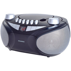SYLVANIA SRCD286-SLVRBLK Portable CD Radio Boom Box