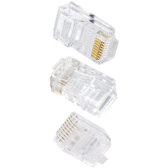 Ethereal C6T 8-Pin CAT-6 Crimp Connectors, 50-Pack